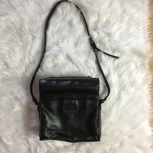 Relic Black leather bag